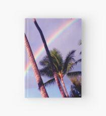 Double Rainbow Hardcover Journal
