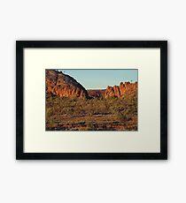 Glen Helen,N.T. Framed Print