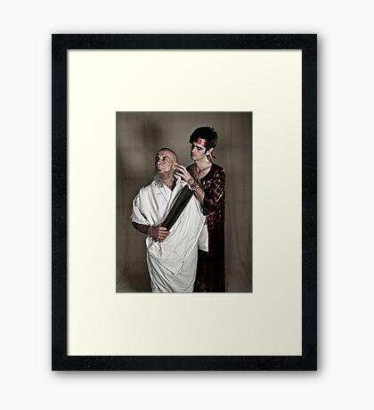LOA - Socrates and Elcibaides Framed Print