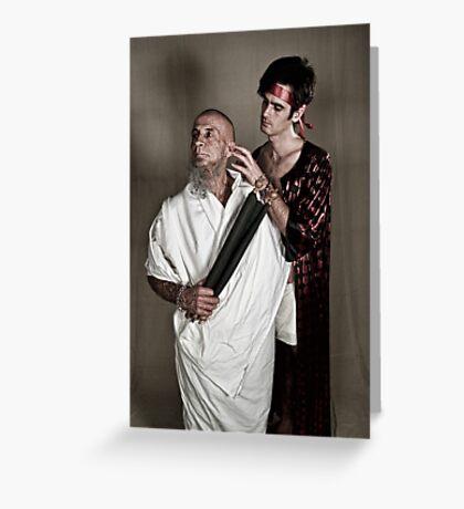 LOA - Socrates and Elcibaides Greeting Card
