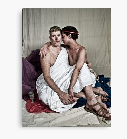 LOA - Hadrian and Antinous Canvas Print
