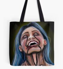Crying Black Tears Tote Bag
