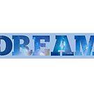 dream blue universe by SJohnsonartist