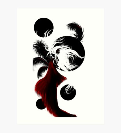 Black Moons Art Print