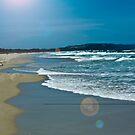 Beach Scene 6 by Aaron Holloway