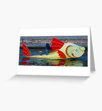 Special boat Greeting Card