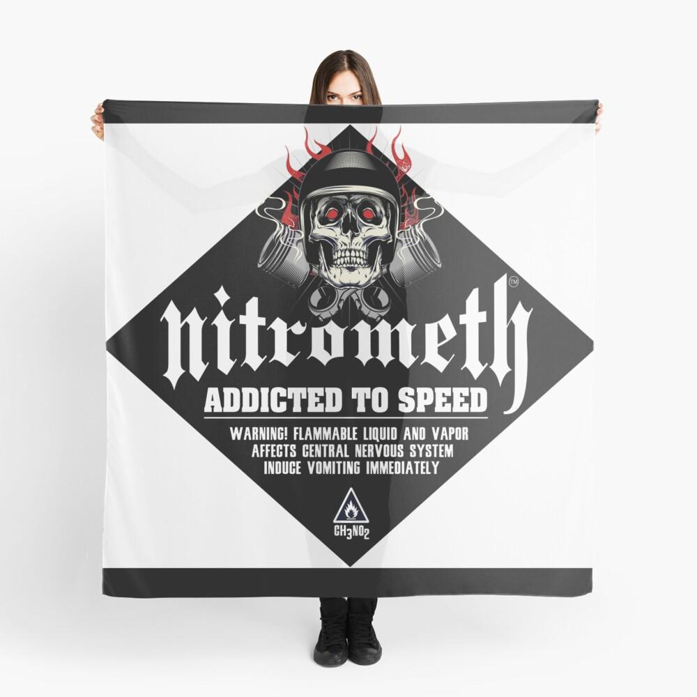 Nitrometh™ Addicted To Speed CH3NO2 Scarf
