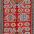 Karakuzulu Antique Turkish Manisa Kilim by Vicky Brago-Mitchell