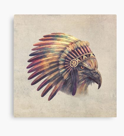 Eagle Chief Canvas Print