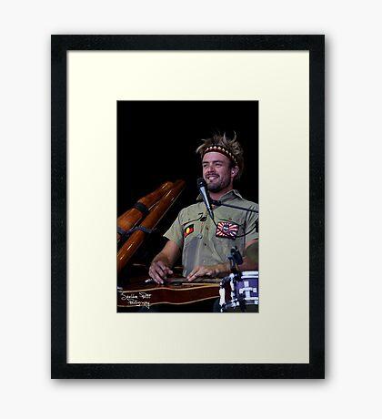 Xavier Rudd Framed Print