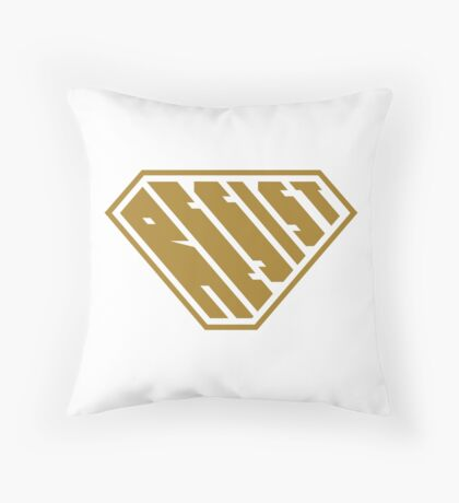 Resist SuperEmpowered (Gold) Floor Pillow