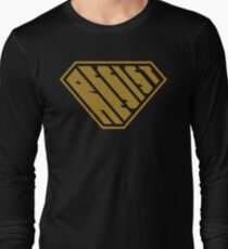 Resist SuperEmpowered (Gold) Long Sleeve T-Shirt