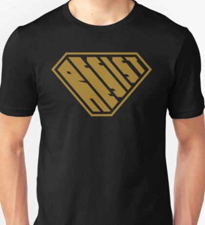 Resist SuperEmpowered (Gold) T-Shirt