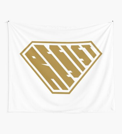 Resist SuperEmpowered (Gold) Wall Tapestry