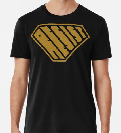 Resist SuperEmpowered (Gold) Premium T-Shirt