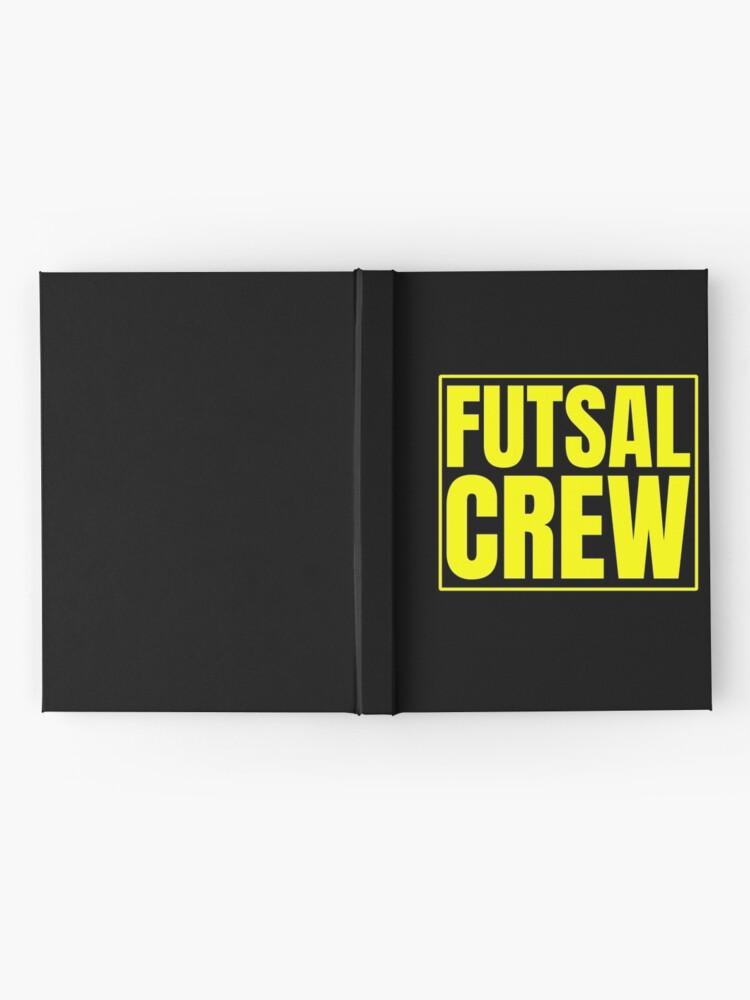 Alternative Ansicht von Futsal Crew Notizbuch