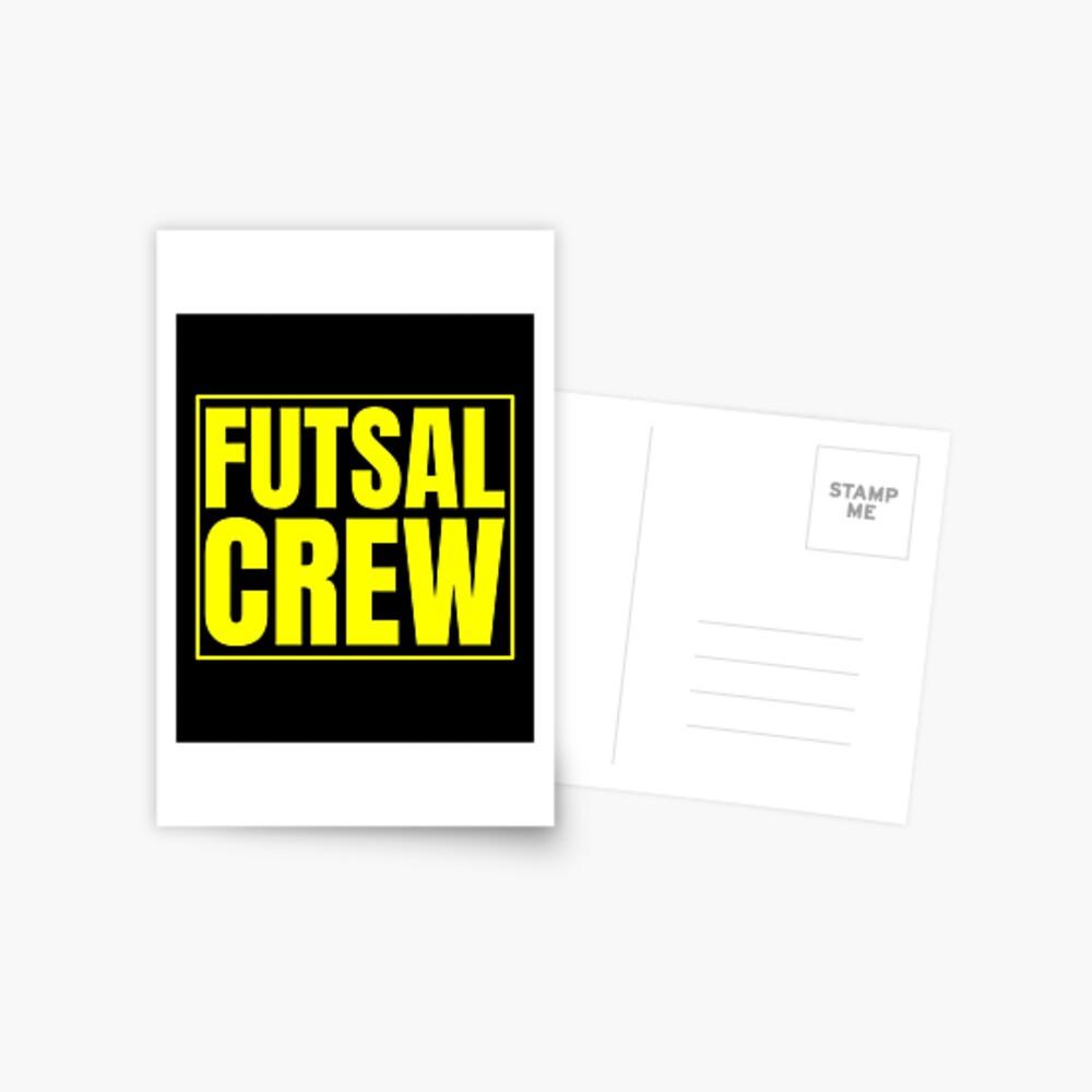 Futsal Crew Postkarte