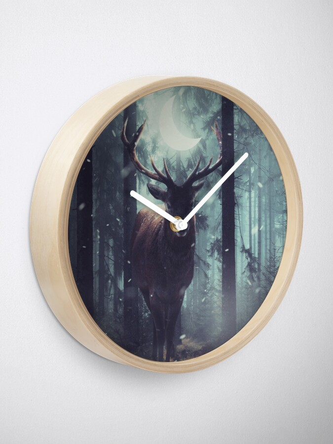 Alternate view of Forest Dweller Clock