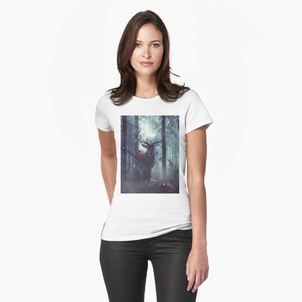 Forest Dweller Fitted T-Shirt