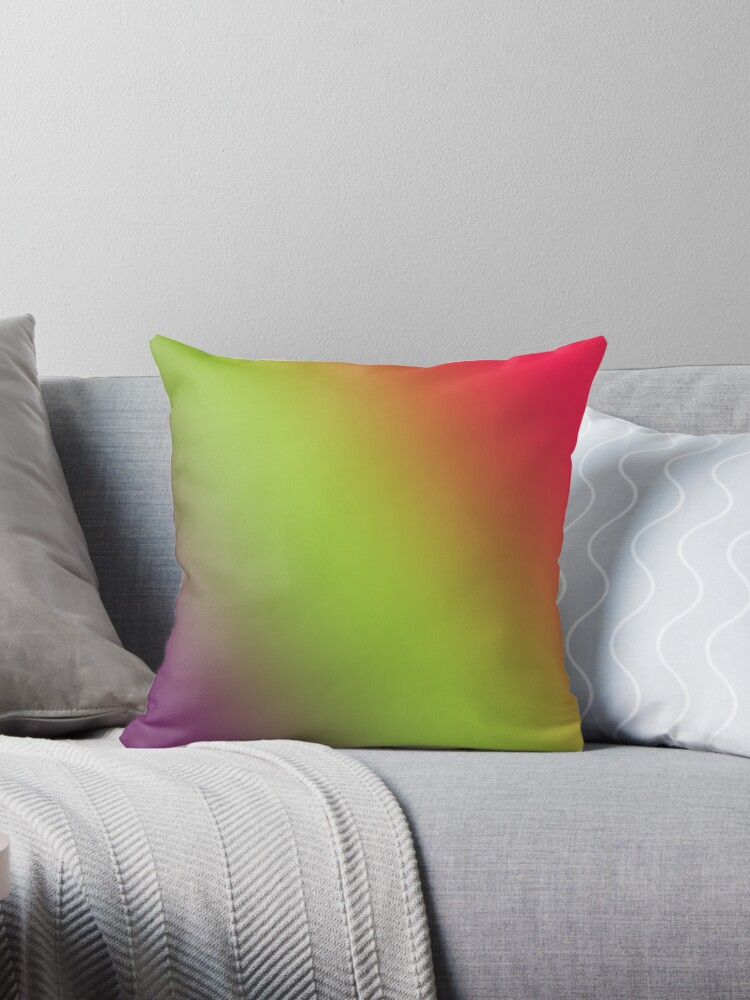 Beautiful Cushions/Ombre/ Byzantium Awesome Android Green by ozcushions