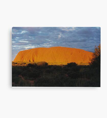 Uluru Sunset Canvas Print
