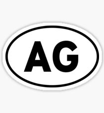 AG Sticker