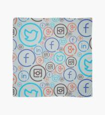 Social Media Crazy Scarf