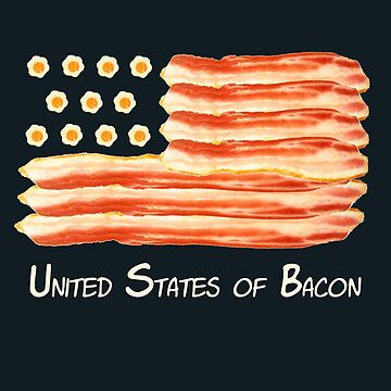 United States of Bacon by dwarmuth