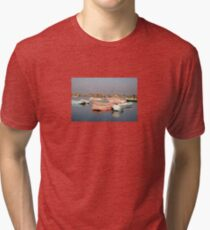 tranquil boats Tri-blend T-Shirt