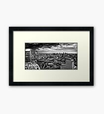 A View From The Eye Framed Print