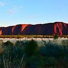 Uluru at Dawn #2 by Lexa Harpell