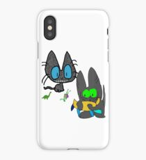 Cats with Toys iPhone Case/Skin