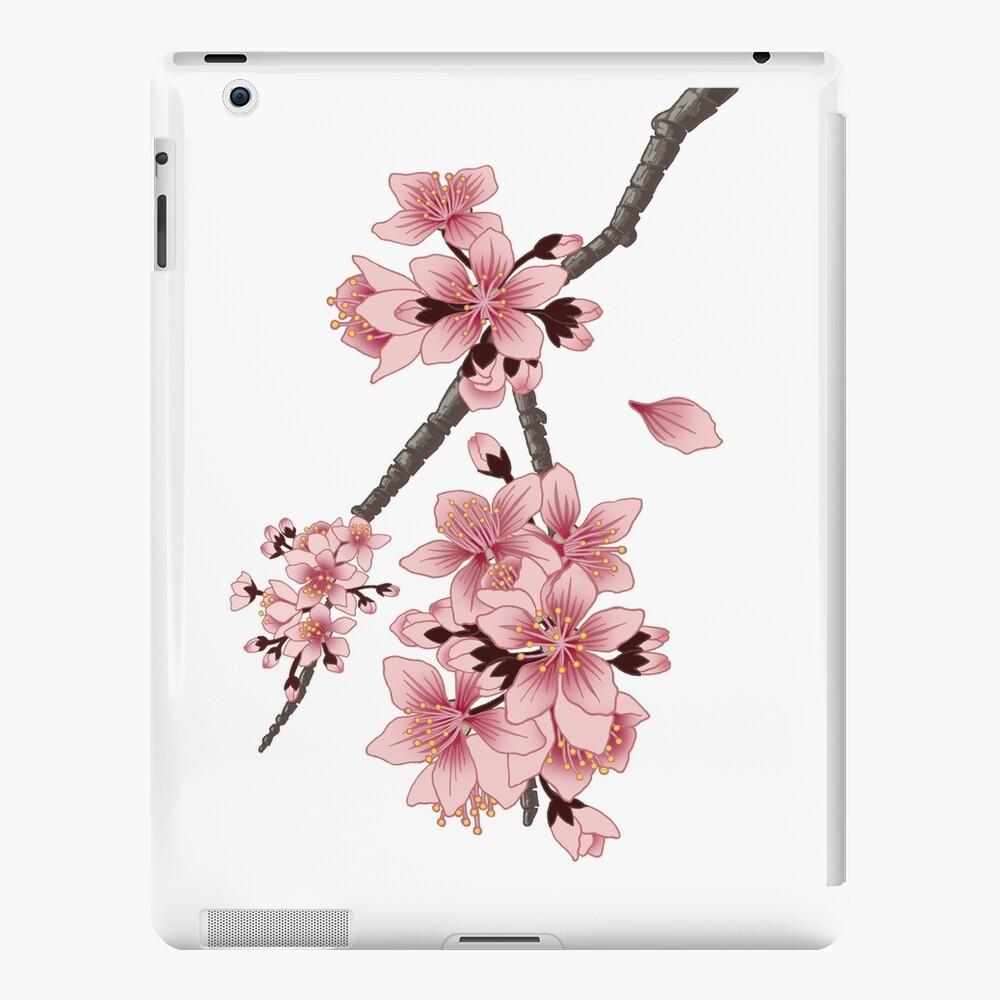 Cherry Blossom Branch iPad Case & Skin