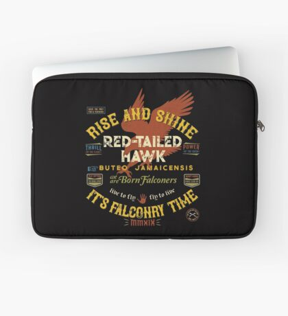 Great Falconer's Red-Tailed Hawk Falconry Supplies Shirts and Gifts Laptop Sleeve