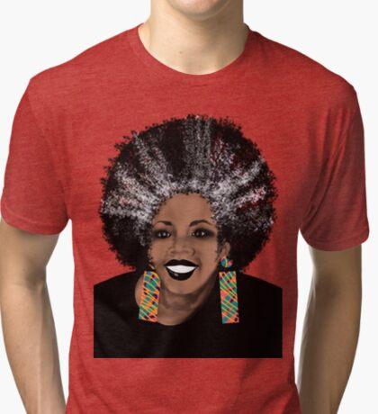 ME- Living Coral  Tri-blend T-Shirt