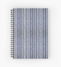 Birch wood forest Spiral Notebook