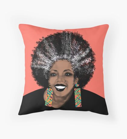 ME- Living Coral  Throw Pillow
