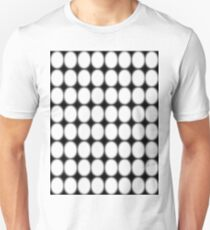 #abstract, #pattern, #design, #illusion, #art, #bright, #square, #shape Slim Fit T-Shirt