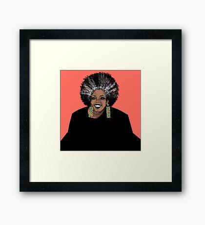 ME- Living Coral  Framed Print