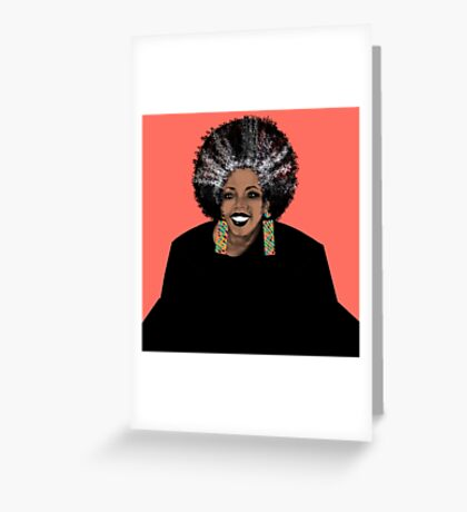 ME- Living Coral  Greeting Card