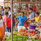 Fruit and Veg Seller by Irina Chuckowree