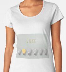 Idee Premium Rundhals-Shirt