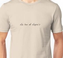 Harry Potter -- Lie Low At Lupin's Unisex T-Shirt