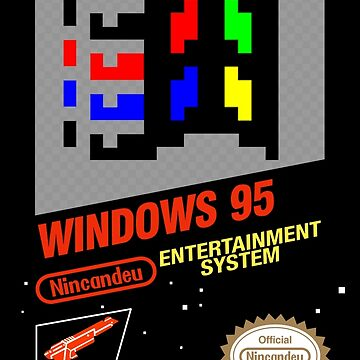 NES Windows95 by CanDeuCrafts