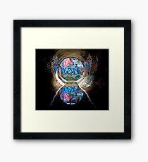 4th Dimension Framed Print