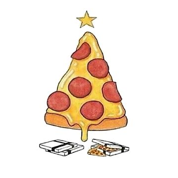 """Pizza Tree"", Graphic Art Illustration Design. by lovelifetravel"