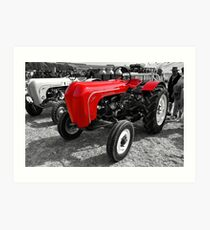 Porsche tractors at the Great Dorset steam fair Art Print