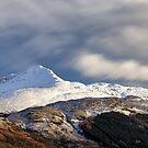 Ben Lomond in Winter by Grant Glendinning