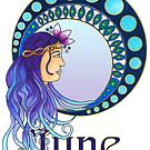 Lady June  by Cynthia Haller