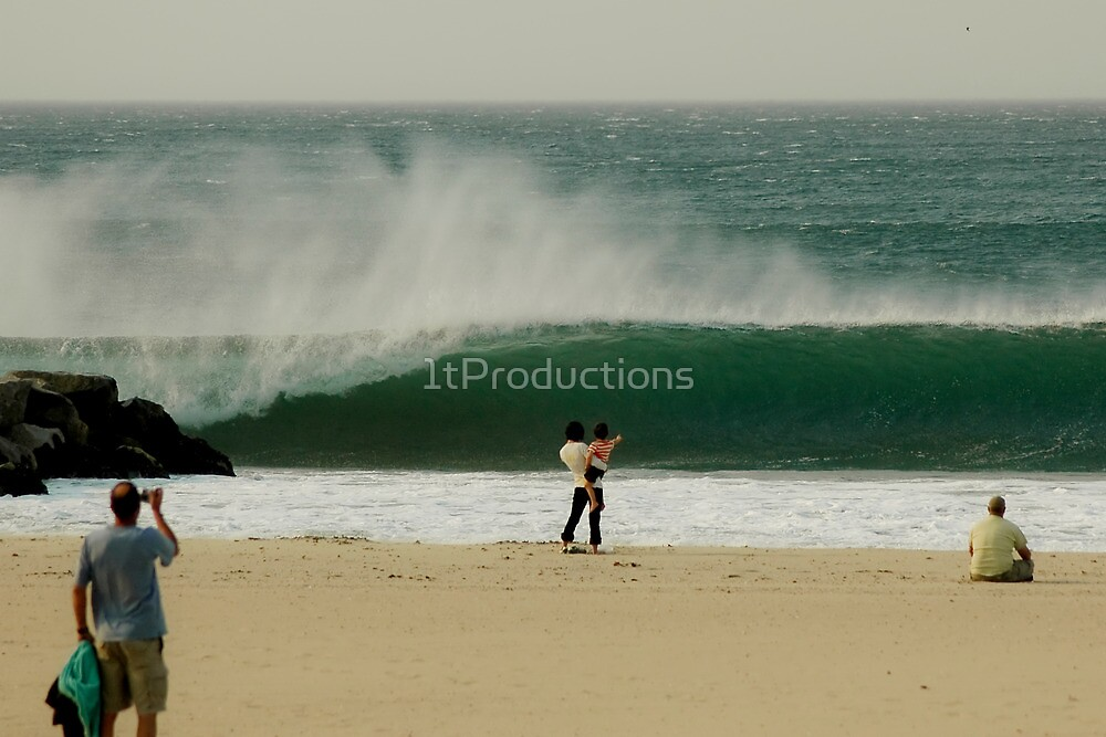Epic 56th Street Newport Beach Fire Swell by 1tProductions